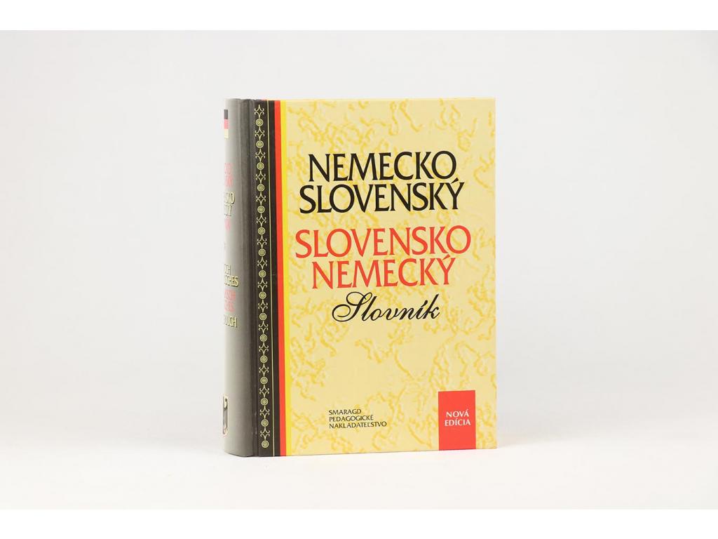 Nemecko-slovenský, slovensko-nemecký slovník (2001)