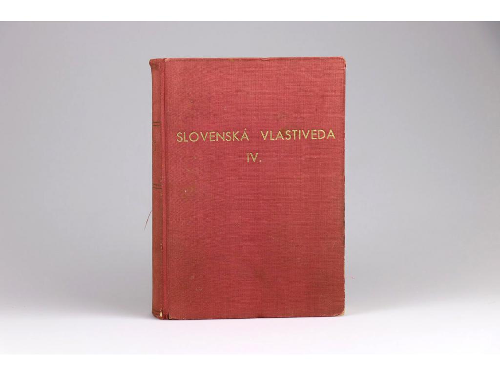 Slovenská vlastiveda IV. (1946)
