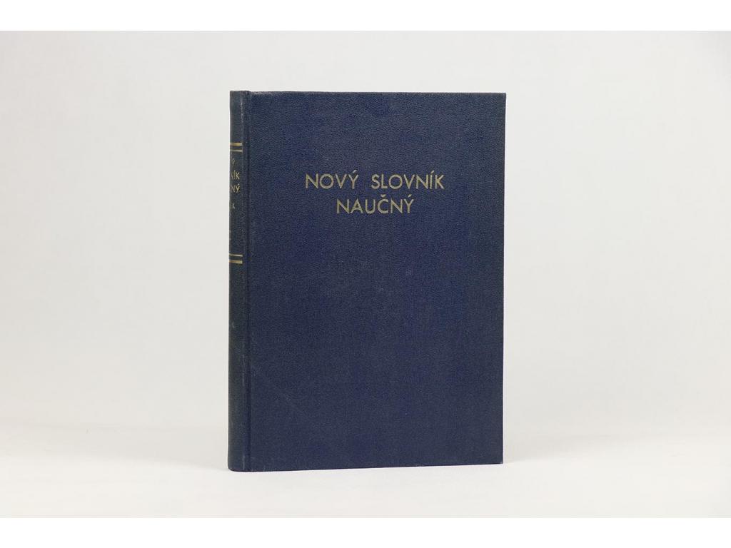 Nový velký ilustrovaný slovník naučný, svazek III.: B-C (1930)