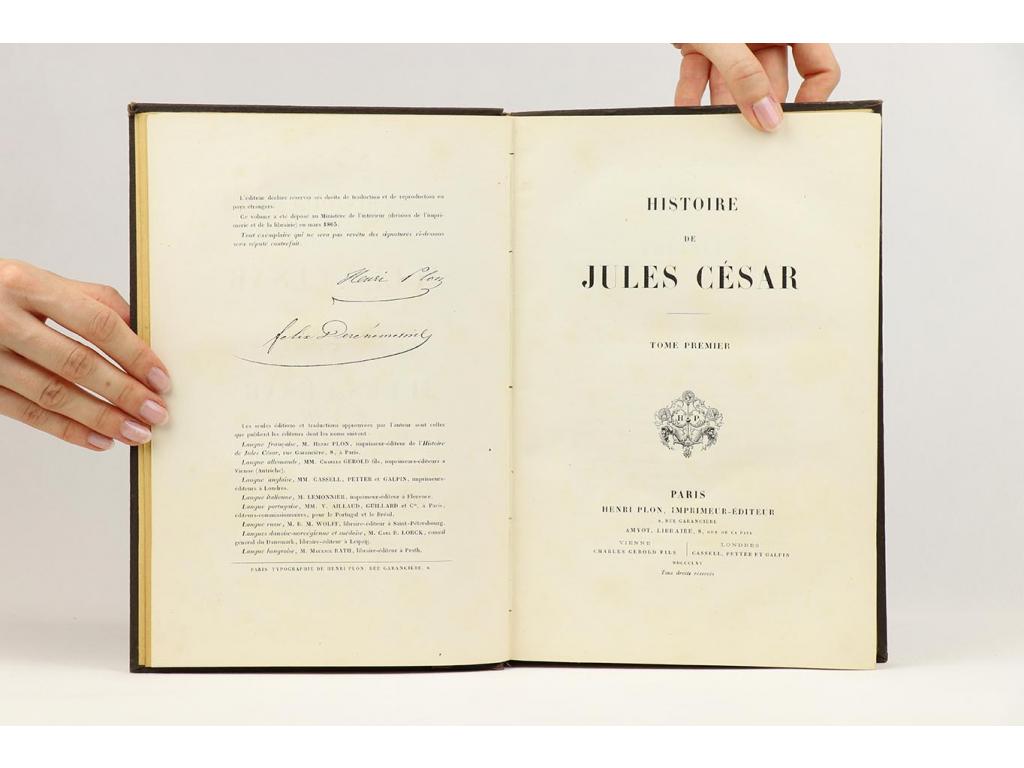 Histoire de Jules César I. (1865)