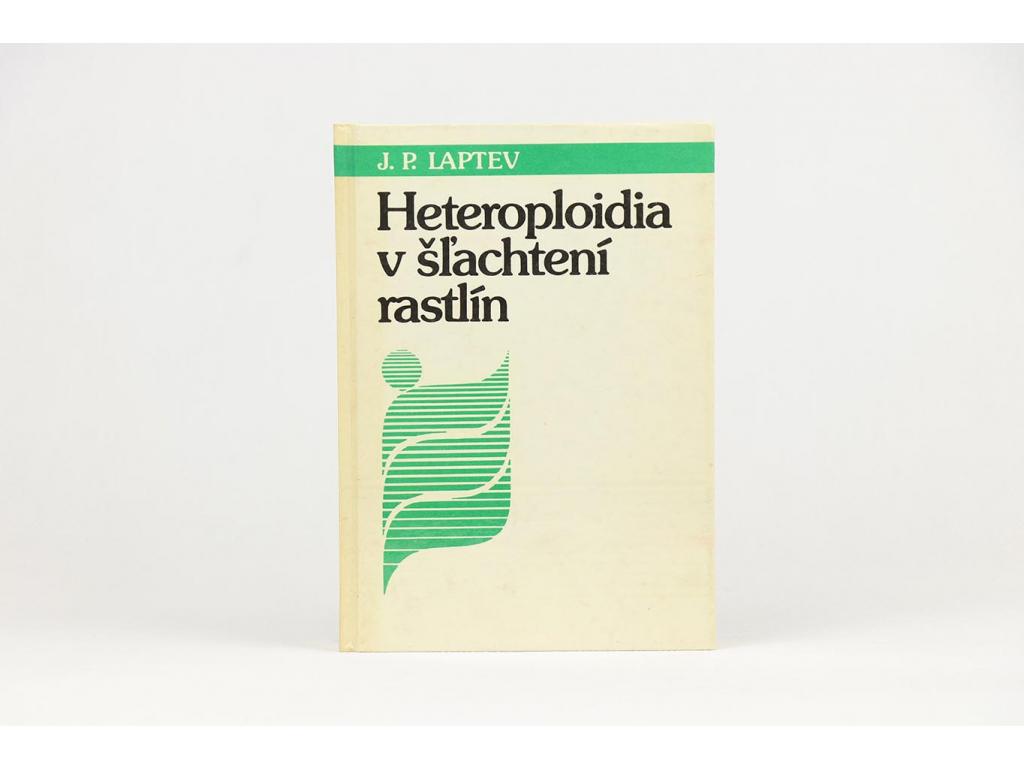 J. P. Laptev - Heteroploidia v šľachtení rastlín (1988)