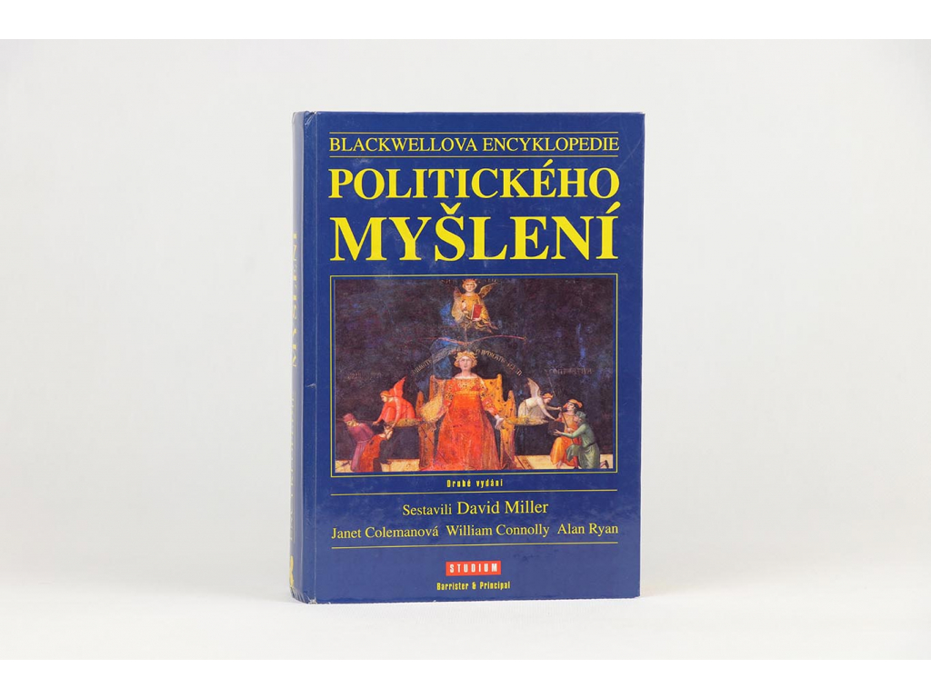 Blackwellova encyklopedie politického myšlení (2000)