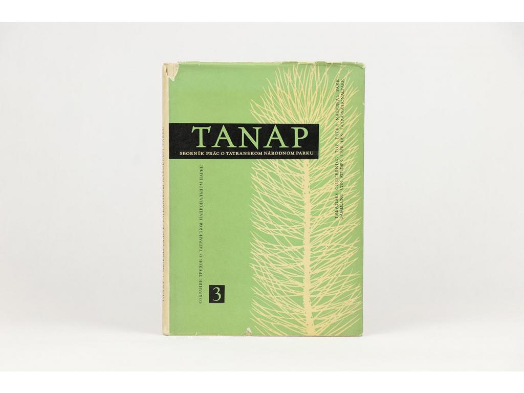 TANAP 3: Sborník prác o Tatranskom národnom parku (1959)