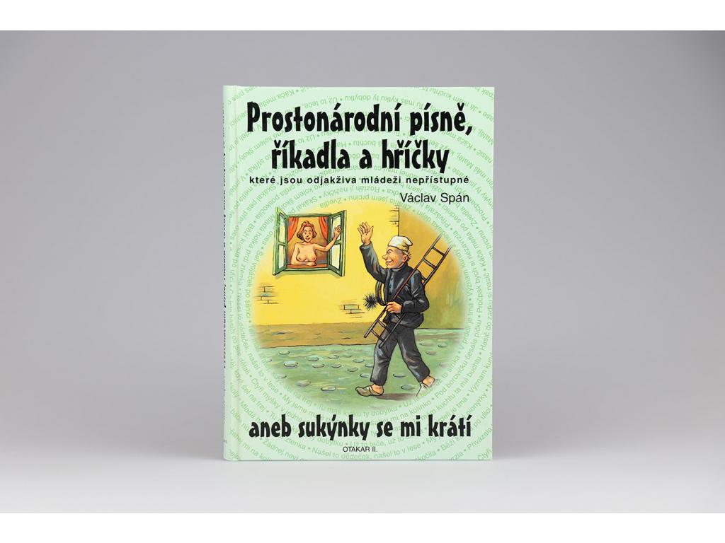 Václav Spán - Prostonárodní písně, říkadla a hříčky (2000)