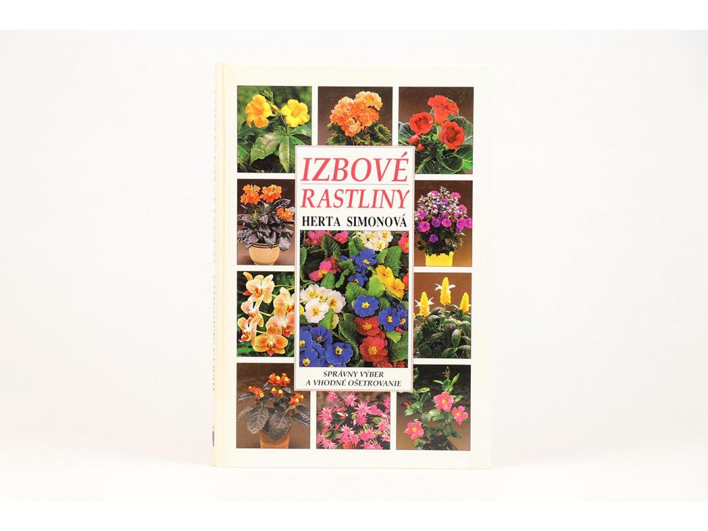 Herta Simonová - Izbové rastliny (1997)