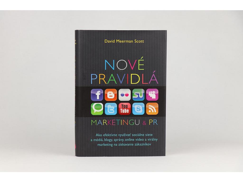 David Meerman Scott - Nové pravidlá marketingu & PR (2010)
