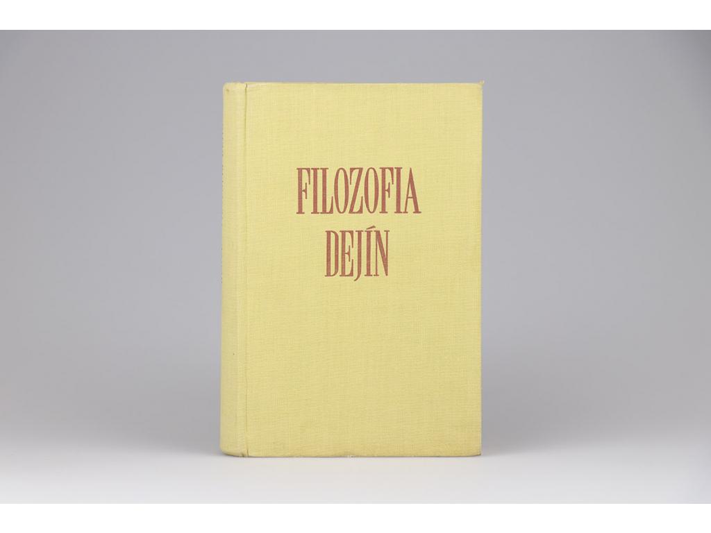 G. W. F. Hegel - Filozofia dejín (1957)