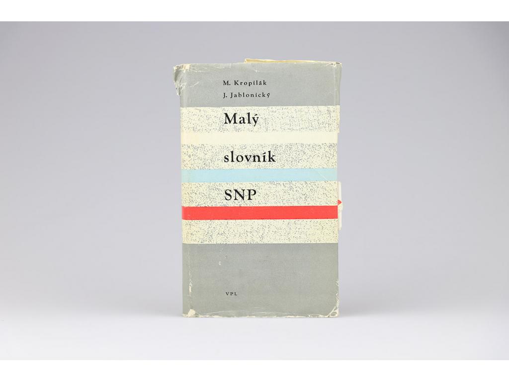Malý slovník SNP (1964)