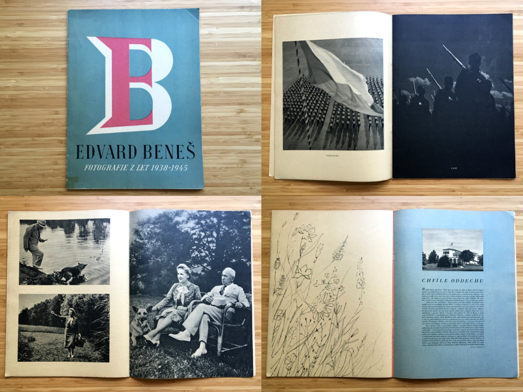 Edvard Beneš - fotografie z let 1938-1945 (1945)