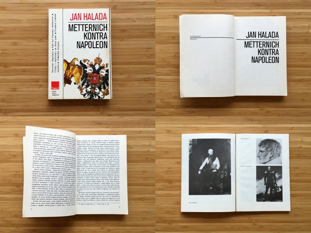Jan Halada - Metternich kontra Napoleon (1985)