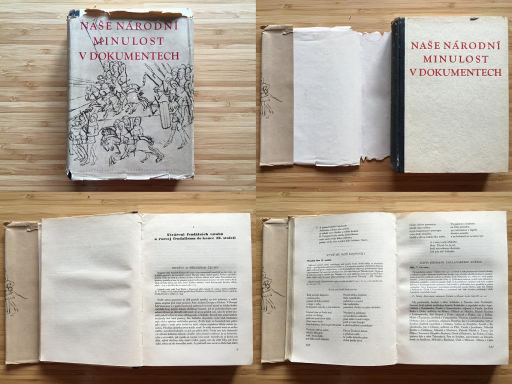 Václav Husa - Naše národní minulost v dokumentech I.  (1954)
