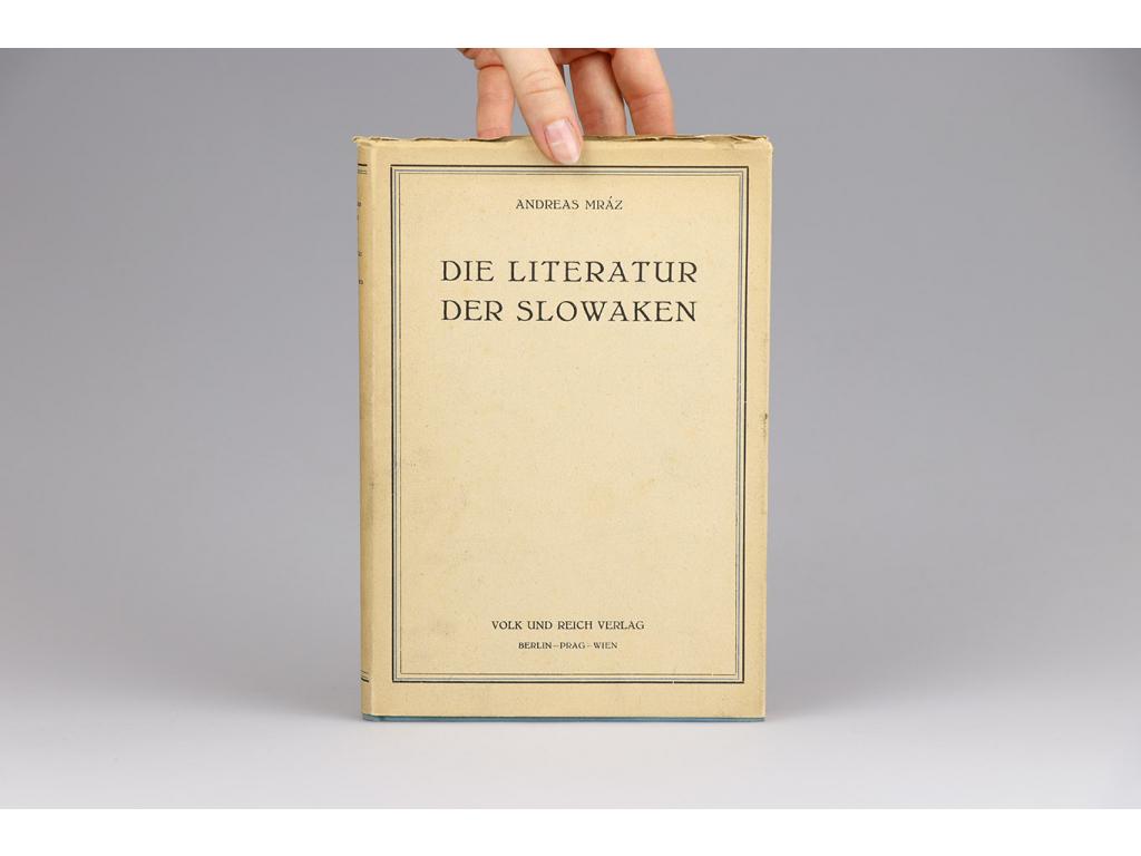 Andreas Mráz - Die Literatur der Slowaken