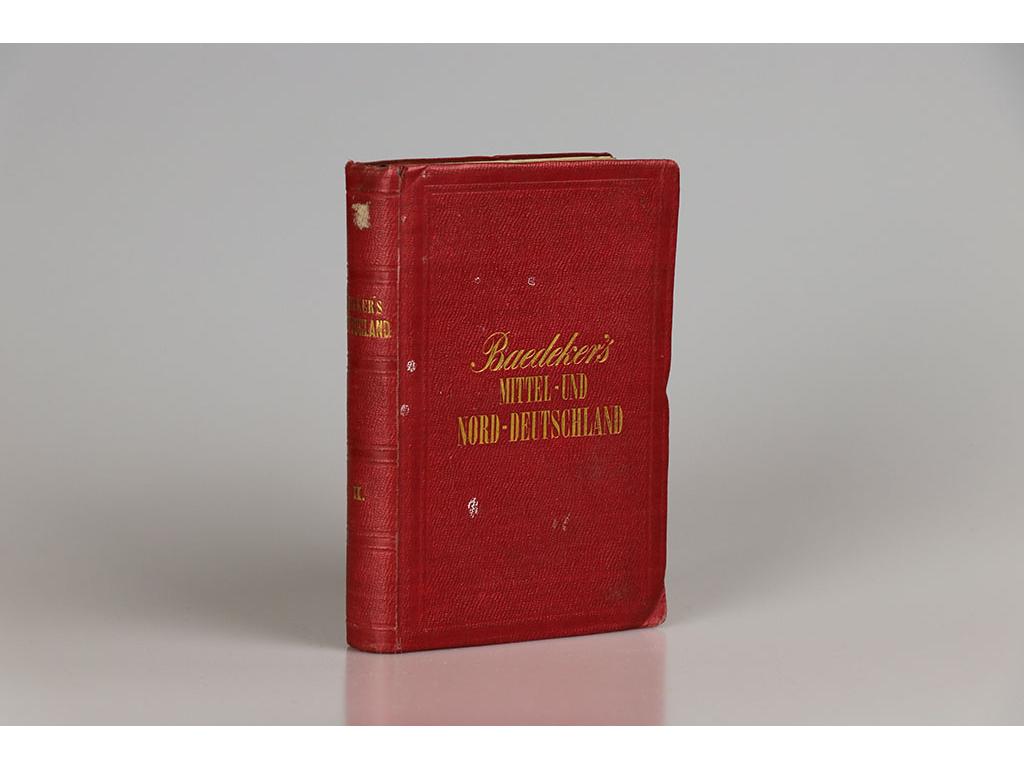 K. Baedeker - Mittel- und Nord- Deutschland (1867)