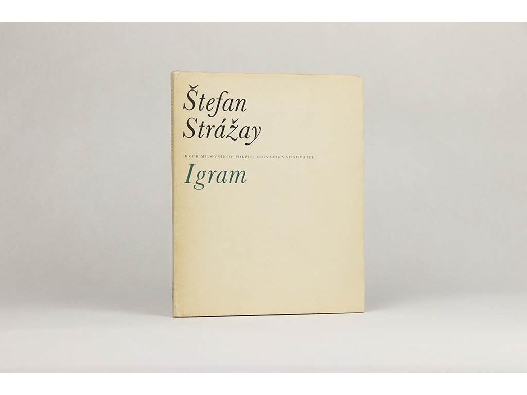 Štefan Strážay - Igram (1975)