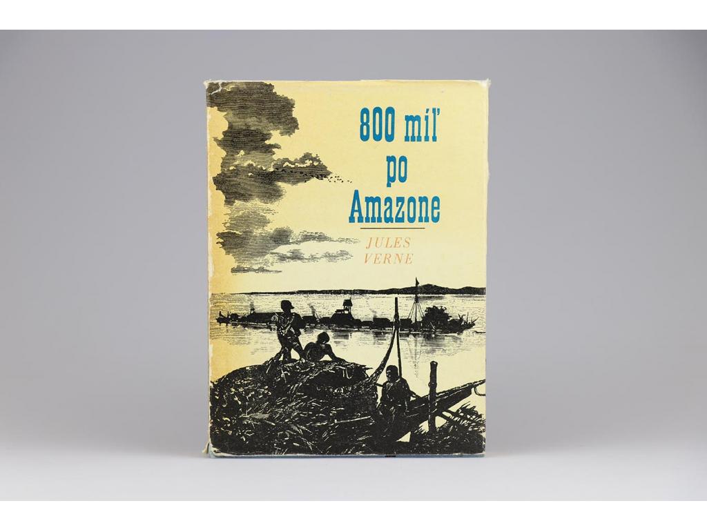 Jules Verne - 800 míľ po Amazone (1967)