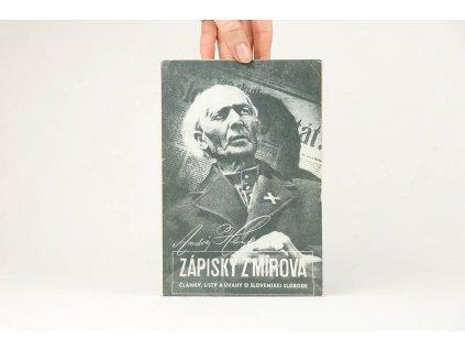 Andrej Hlinka - Zápisky z Mírova (1991)