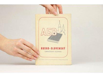 Rusko-slovenský obrázkový slovník (1953)