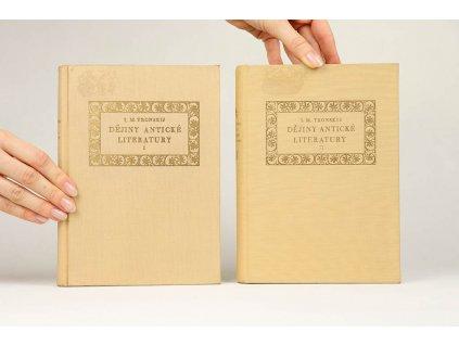 I. M. Tronskij - Dějiny antické literatury I., II. (1955, 1956)