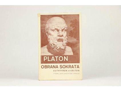 Platon - Obrana Sokrata, Euthyfron a Kriton (1942)
