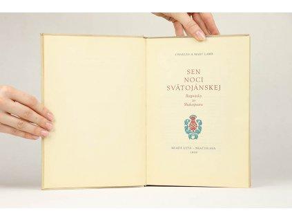 Charles a Mary Lamb - Sen noci svätojánskej: rozprávky zo Shakespeara (1959)