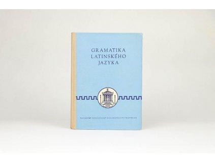 Július Špaňár, Ján Horecký - Gramatika latinského jazyka (1960)