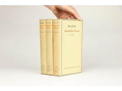 Platon - Sämtliche Werke, 3 Bände
