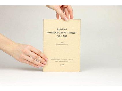 Bibliografie československé moderní filologie za rok 1959 (1961)