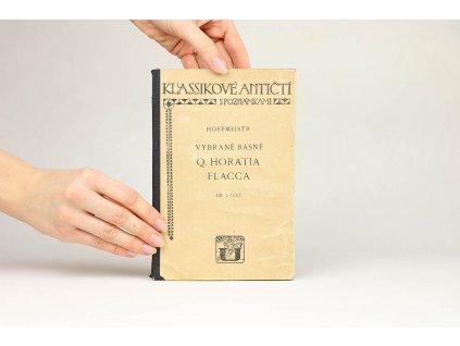Vybrané básně Q. Horatia Flacca, díl I. (1923)