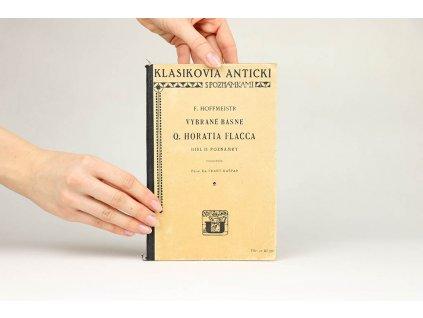 Vybrané básně Q. Horatia Flacca, díl II. (1927)