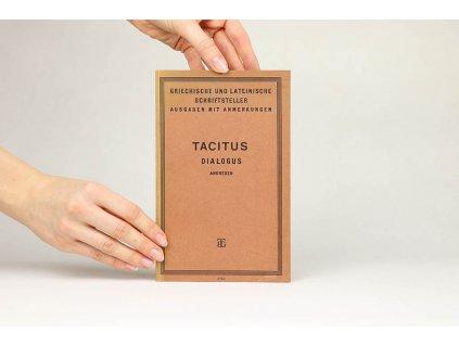 P. Cornelius Tacitus - Dialogus de Oratoribus (1918)