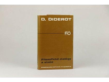 D. Diderot - Filozofické dialógy a state (1984)