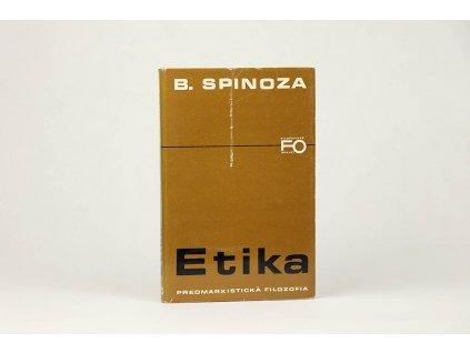 B. Spinoza - Etika (1986)