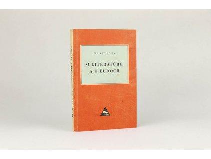 Ján Kalinčiak - O literatúre a o ľudoch (1949)