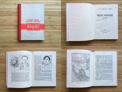 Galkin, Zubok, Notovič, Chvostov - Dejiny novoveku II. (1950)