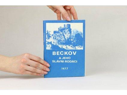 Beckov a jeho slávni rodáci (1977)