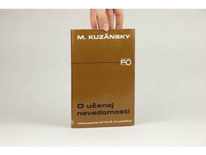 M. Kuzánsky - O učenej nevedomosti (1979)