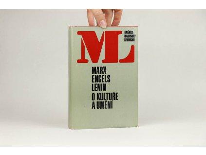 Marx / Engels / Lenin - O kultuře umění (1977)