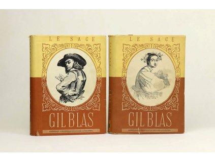 Alain René Le Sage - História Gila Blasa de Santillane I., II. (1957)