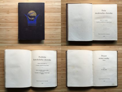 F. Sawicki - Duša moderného človeka (1932) + P. Lippert - Podstata katolíckeho človeka + M. Hesák - Pieseň nemej matky