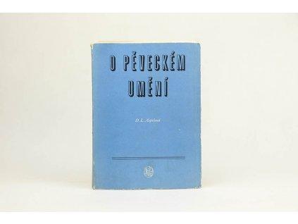 D. L. Aspelund - O pěveckém umění (1955)