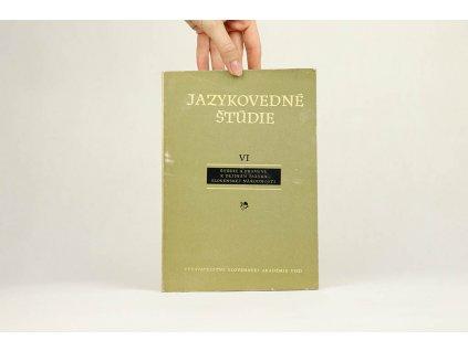 Jazykovedné štúdie VI (1961)