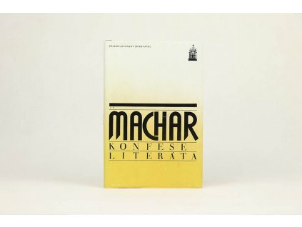 J. S. Machar: Konfese literáta (1984)