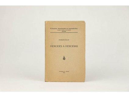 Hviezdoslav - Herodes a Herodias (1935)