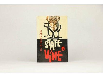 Dr. P. Matuška - State o víne (1964)
