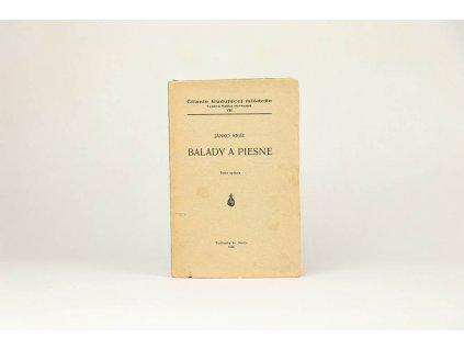 Janko Kráľ - Balady a piesne (1936)