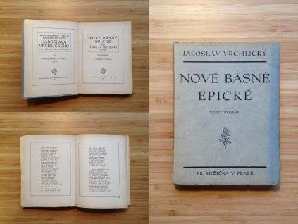 Jaroslav Vrchlický - Nové básně epické (1920)