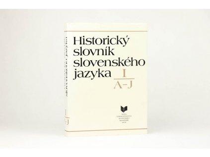 PhDr. Milan Majtán CSs. a kol. - Historický slovník slovenského jazyka II. A-J (1991)
