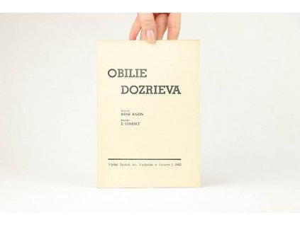 René Bazin - Obilie dozrieva (1942)