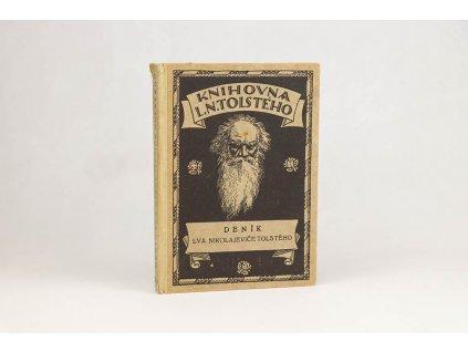 L. N. Tolstoj - Deník Lva Nikolajeviče Tolstého (1924)