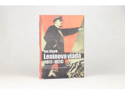 Jan Slavík - Leninova vláda (1917-1924) (2009)